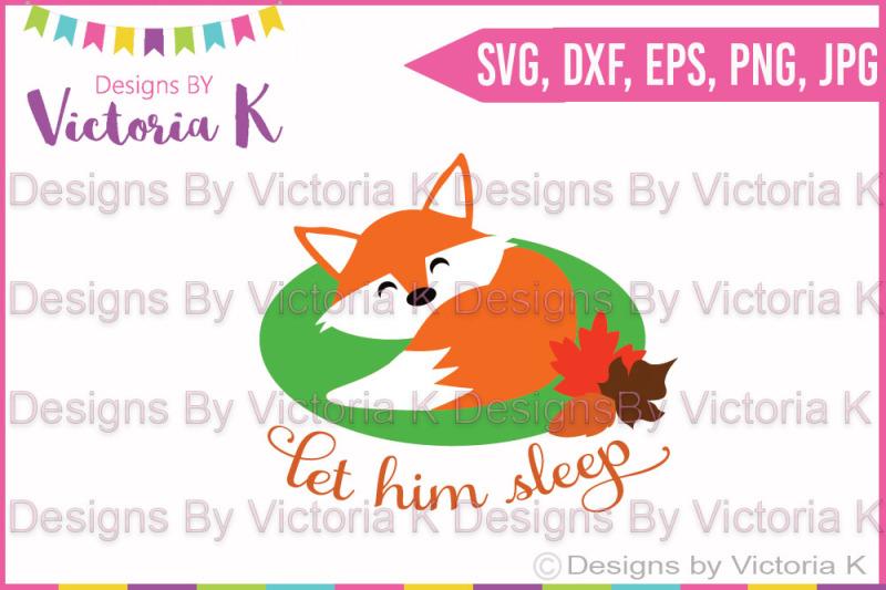 let-him-sleep-fox-sleeping-fox-svg-dxf-cut-file