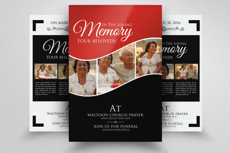 double-sided-memory-funeral-flyer