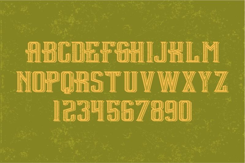 vintage-1965-established-vector-typeface