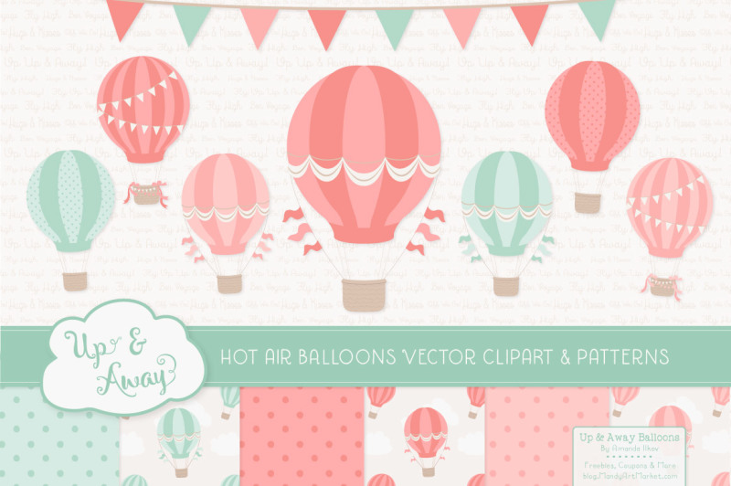 mint-and-coral-hot-air-balloons-and-patterns