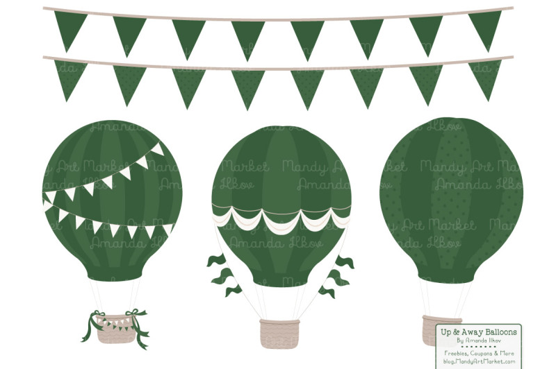 hot-air-balloons-and-patterns-in-shades-of-green