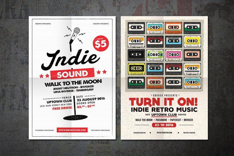 12-indie-music-flyer-bundle