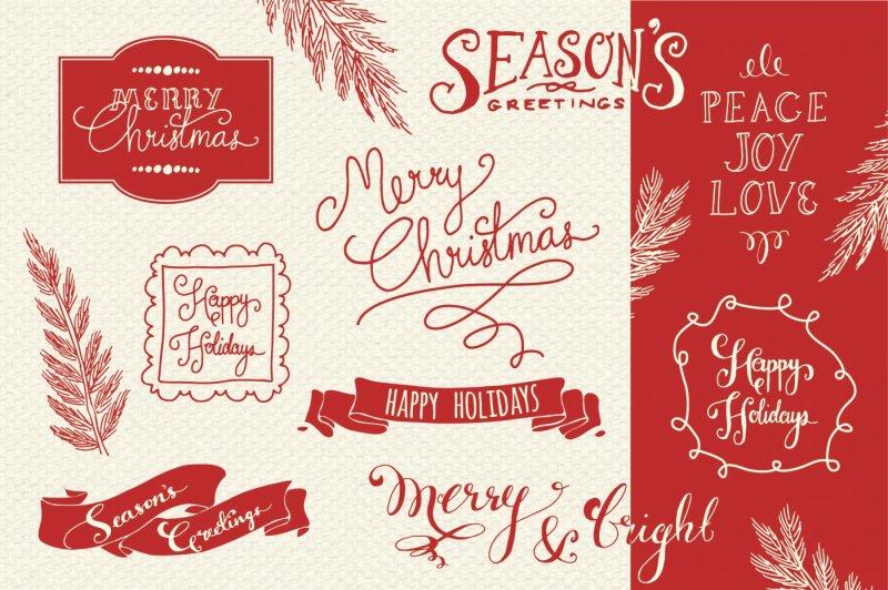 christmas-overlays-set-2-vector