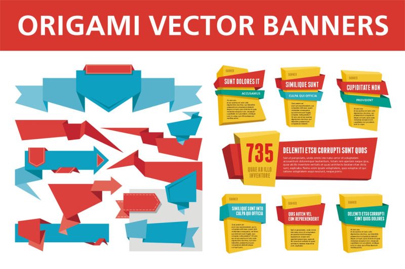 origami-vector-banners-and-labels