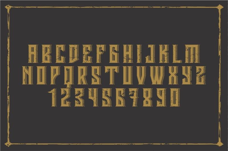 vintage-font
