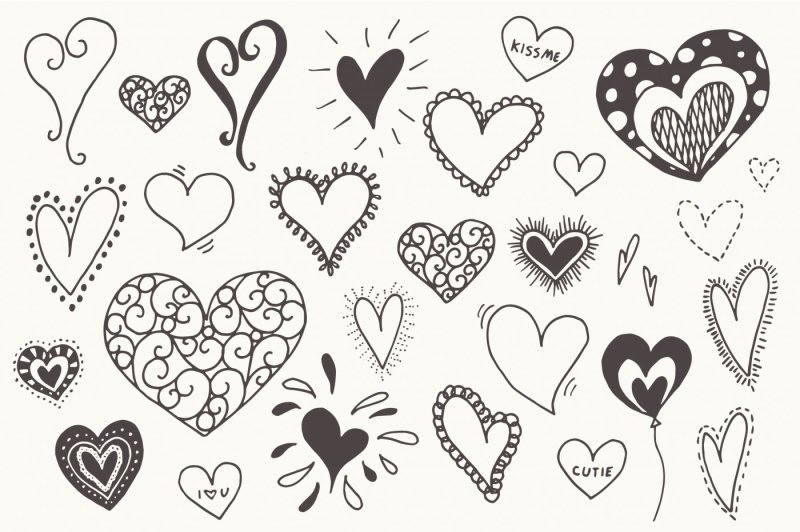 doodle-hearts-clip-art-and-vectors