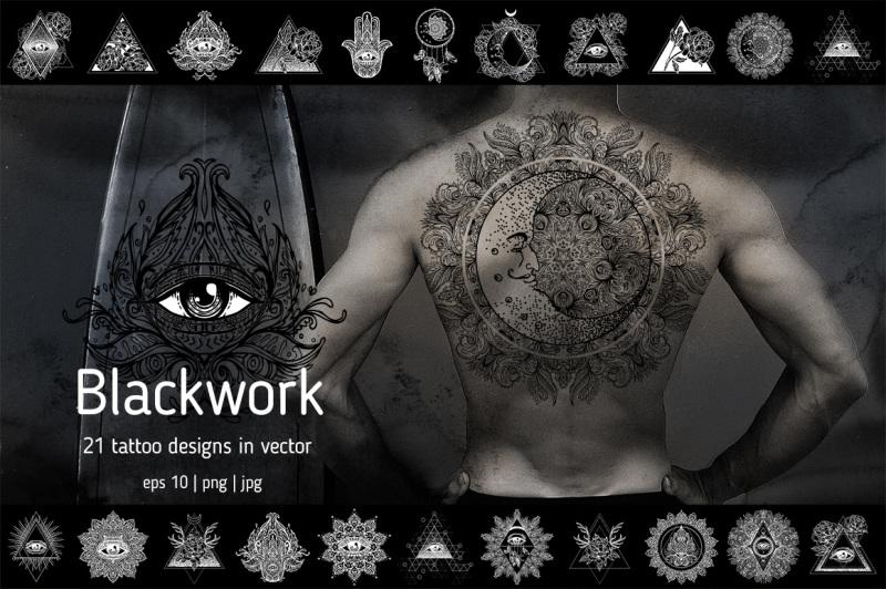 blackwork-21-vector-tattoo-designs