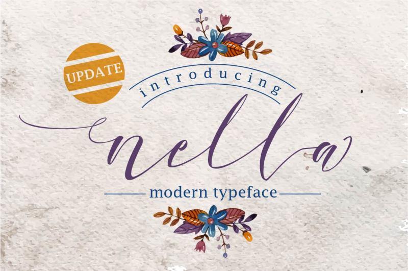 nella-typeface
