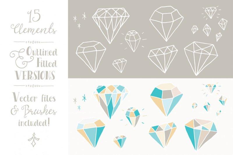 blue-diamonds-clip-art-and-vectors