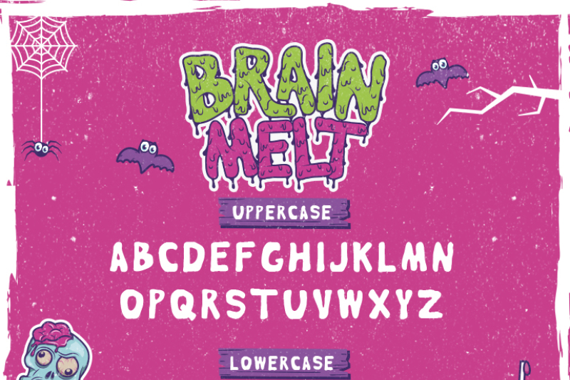 brain-melt-layered-typeface