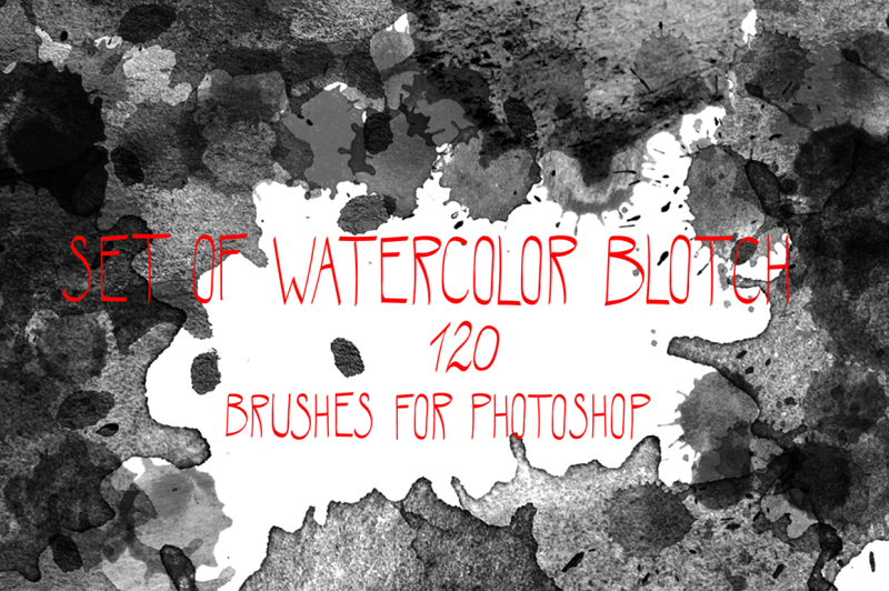 watercolor-blotch-brushes-set