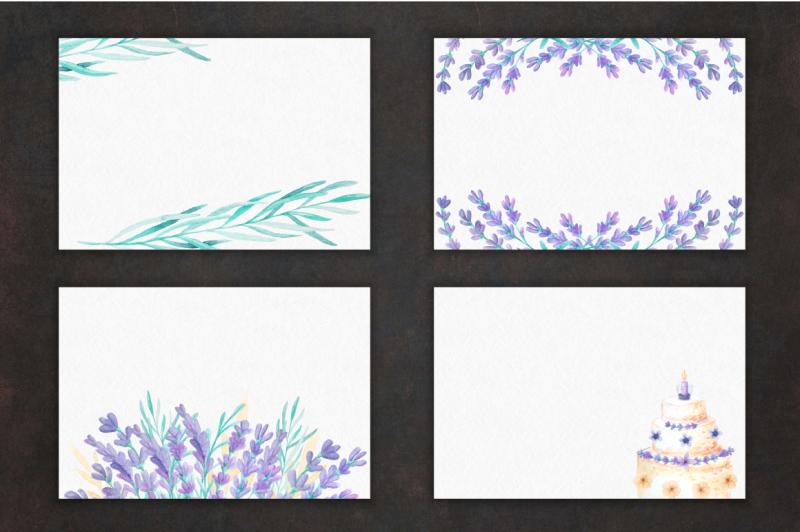 lavender-wedding-card-set