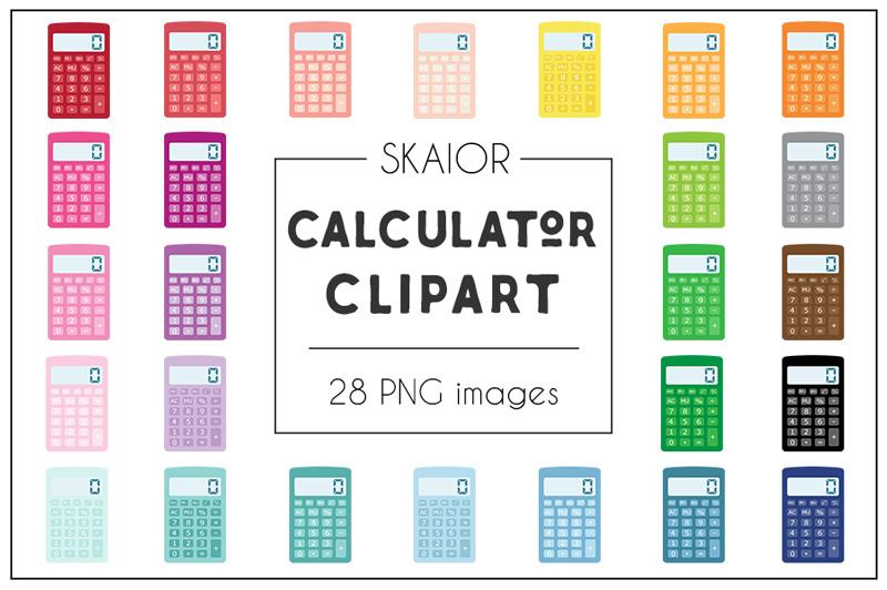 rainbow-calculator-clipart