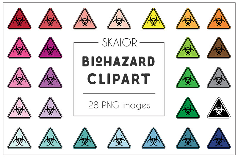 rainbow-biohazard-clipart