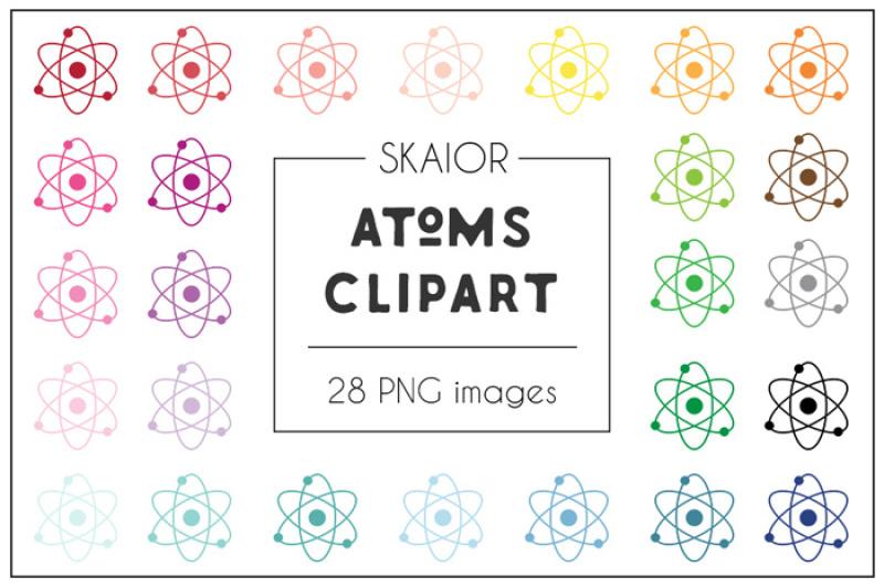 rainbow-atom-clipart