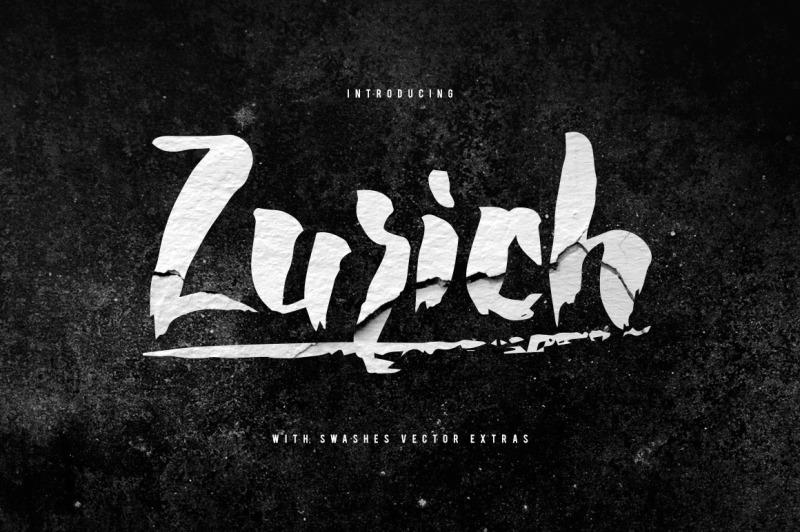 zurich-brush-font