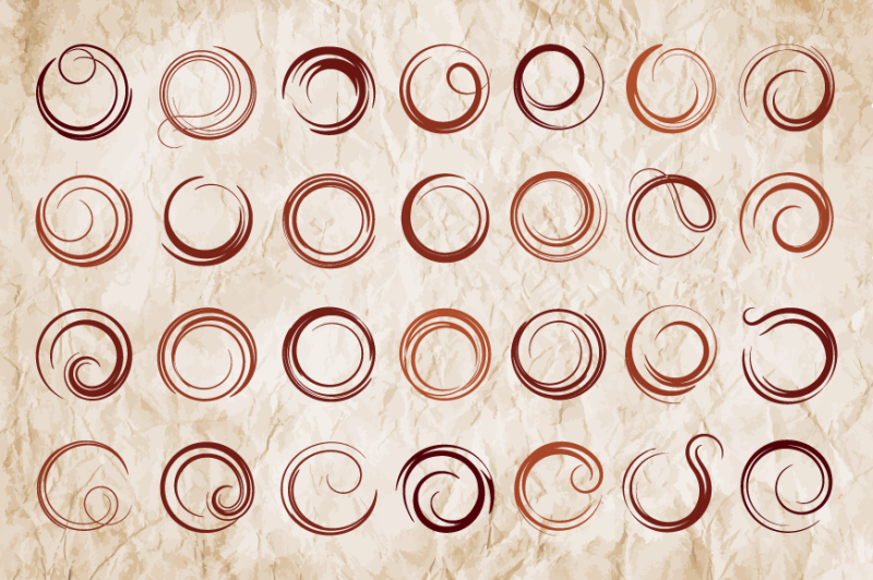 abstract-round-elements-vector-set