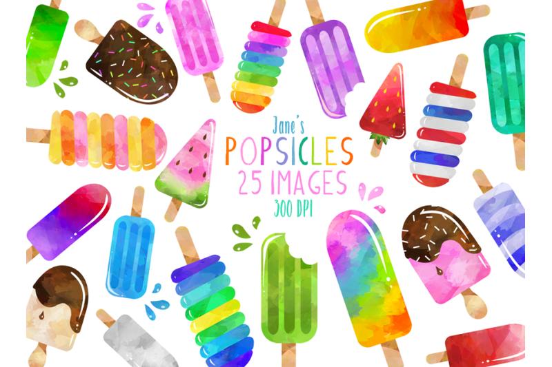 watercolor-popsicles-clipart