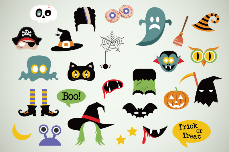 halloween-icons-masks-and-party-props