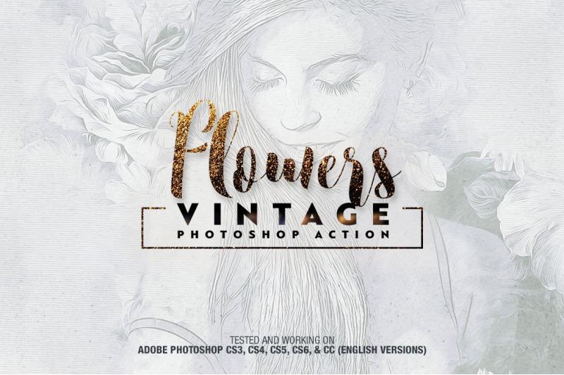 flowers-vintage-photoshop-action