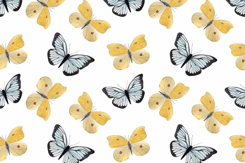 butterflies-watercolor-set