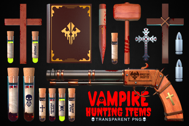 vampire-hunting-items-collection