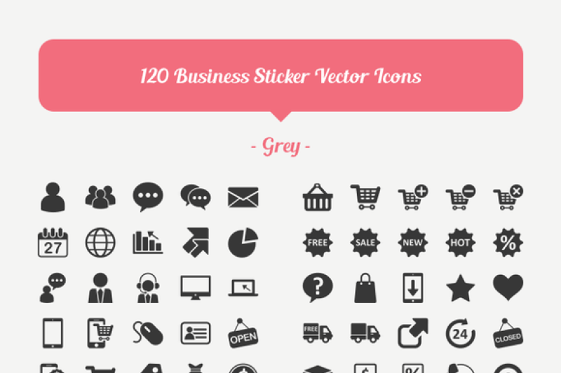 120-ecommerce-vector-icons