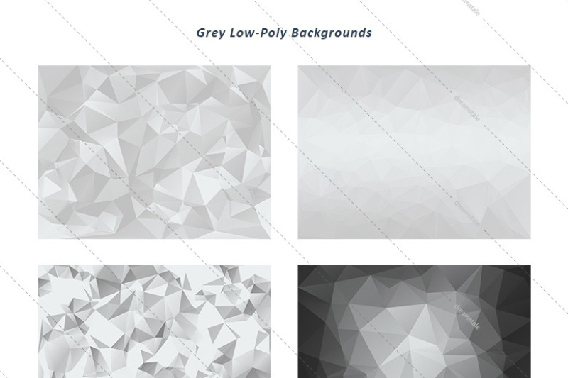 grey-low-poly-backgrounds