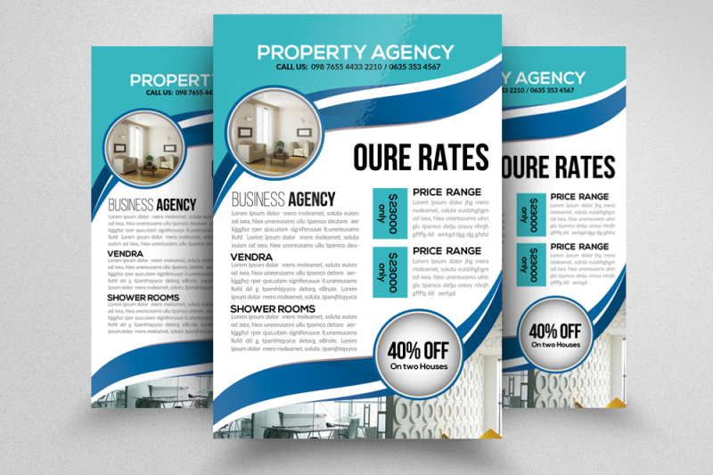 real-estate-and-property-flyer