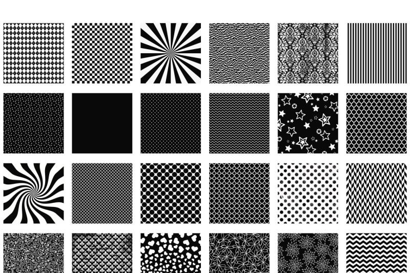 dark-pink-patterns-digital-paper
