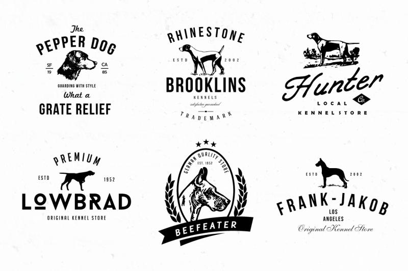 dog-kennel-logo-badges