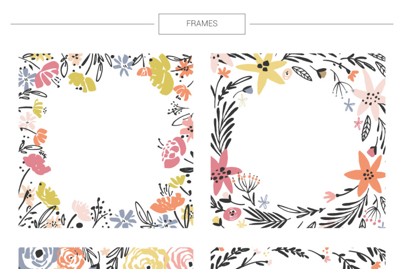 floral-mega-bundle-1267-elements