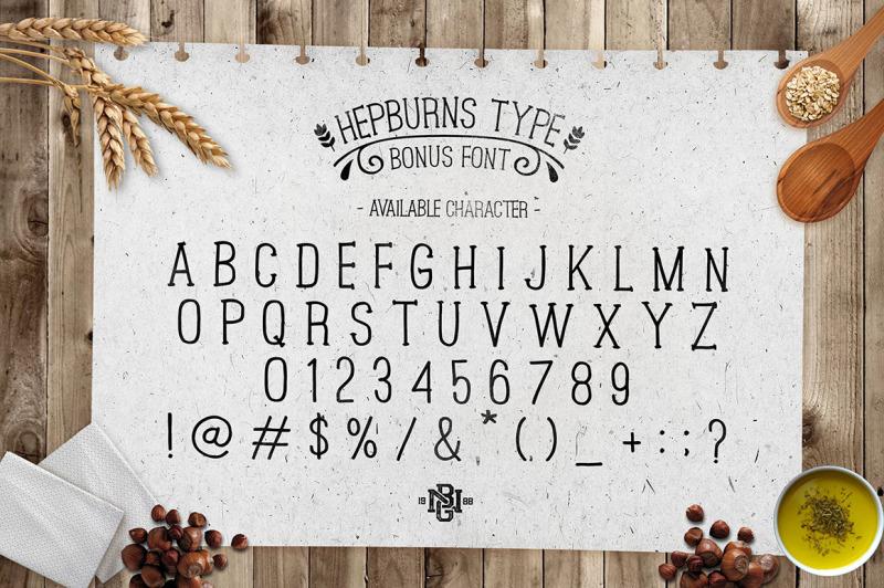 hazelnut-typeface-extras