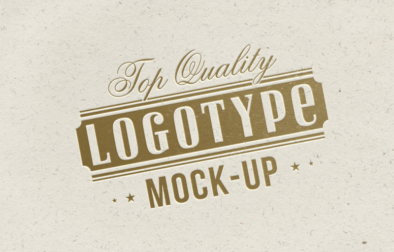 top-quality-logotype-mock-up-gold-letterpress-on-white-chalk-paper