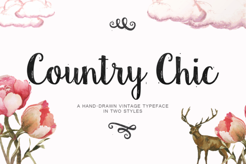 country-chic-script