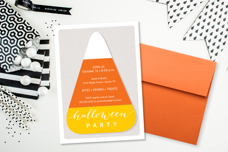 candy-corn-halloween-invitation