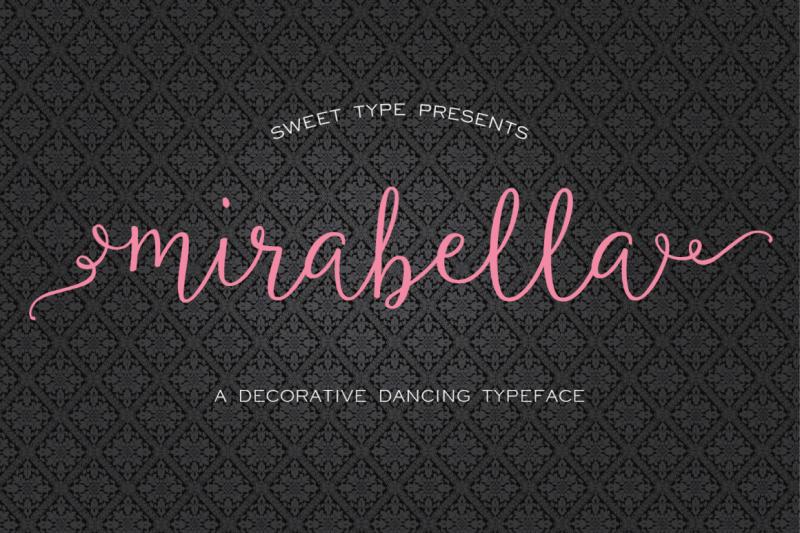 mirabella-calligraphy-script