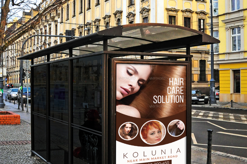 hair-care-solution-outdoor-ad