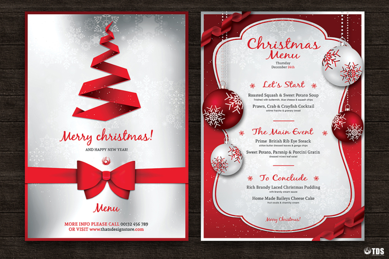 7-xmas-menus-7-invitations-bundle