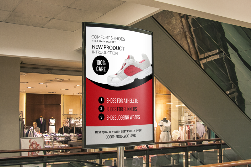 shoes-discount-bus-stop-banner-ad