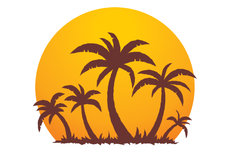 palm-trees-and-summer-sunset