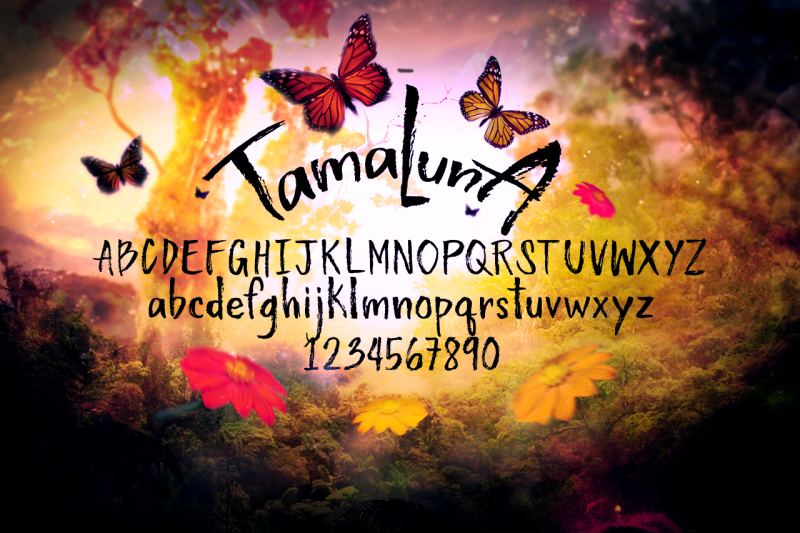 tamaluna-typeface