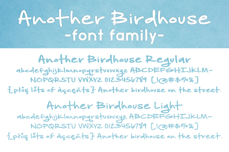 another-birdhouse-font-family