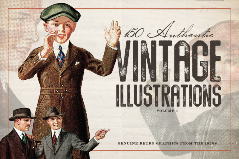 150-vintage-illustrations-volume-1
