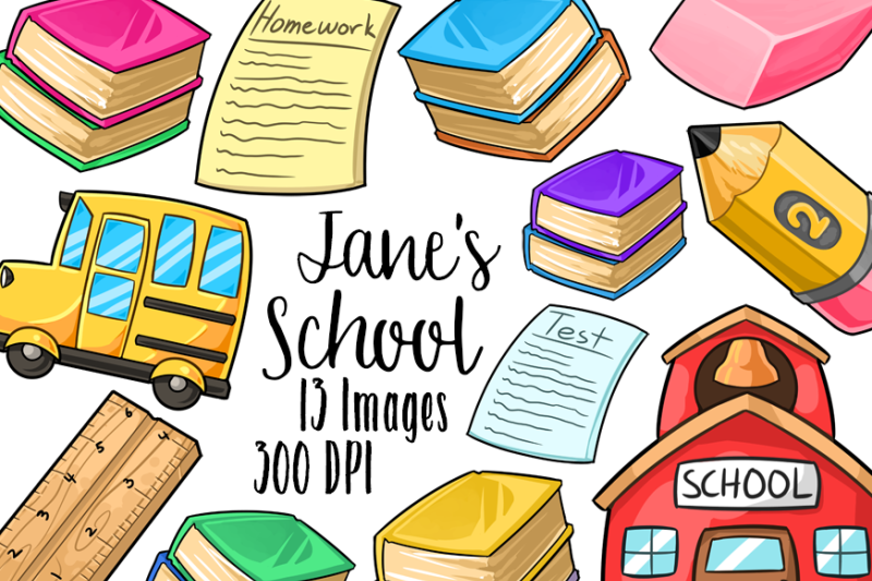 kawaii-school-supplies-clipart