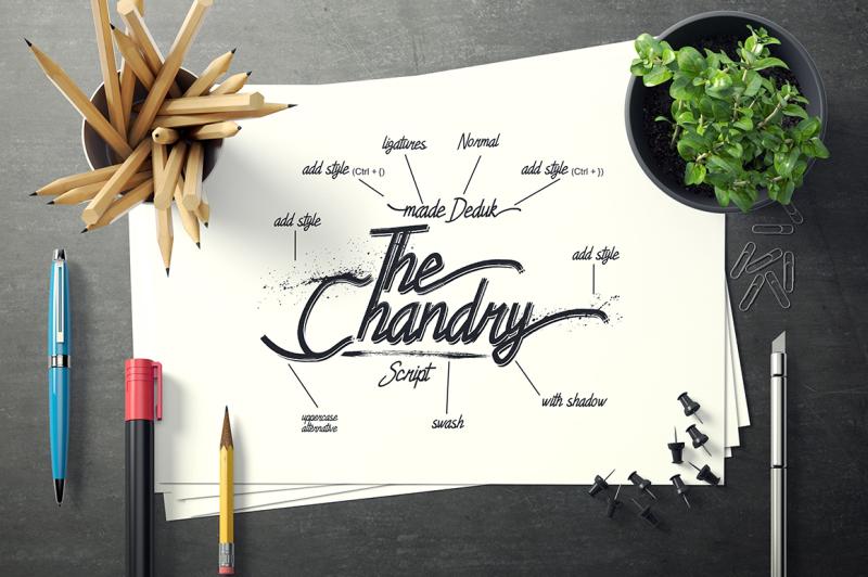 chandry-fonts