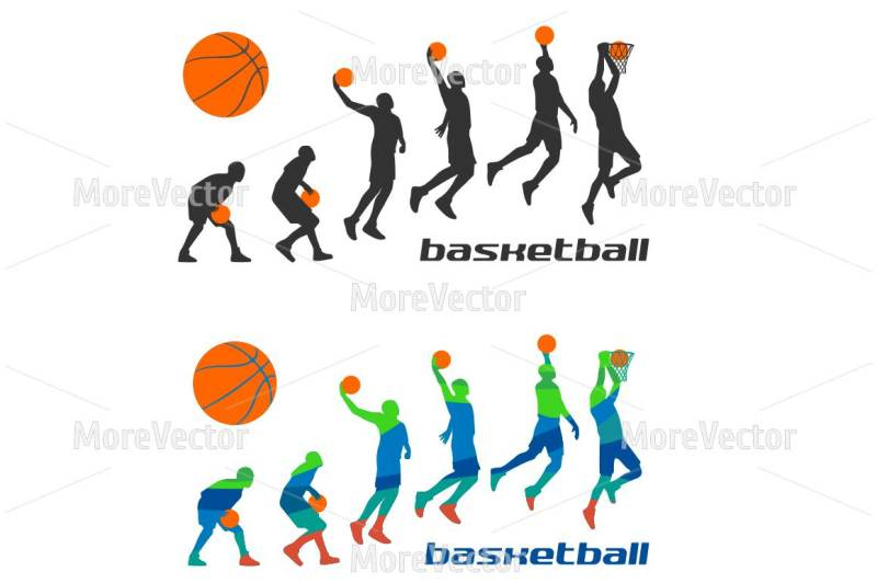 set-different-poses-basketball-players-in-silhouettes