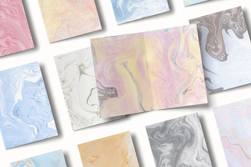 suminagashi-marble-textures