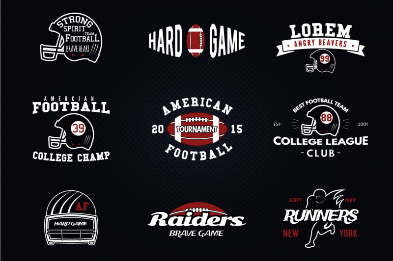9-american-football-logos-and-labels