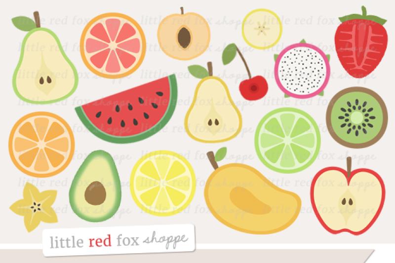 fruit-slice-clipart
